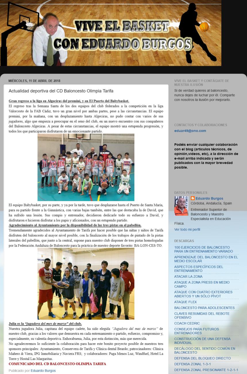 Screenshot-2018-4-11 Actualidad deportiva del CD Baloncesto Olimpia Tarifa